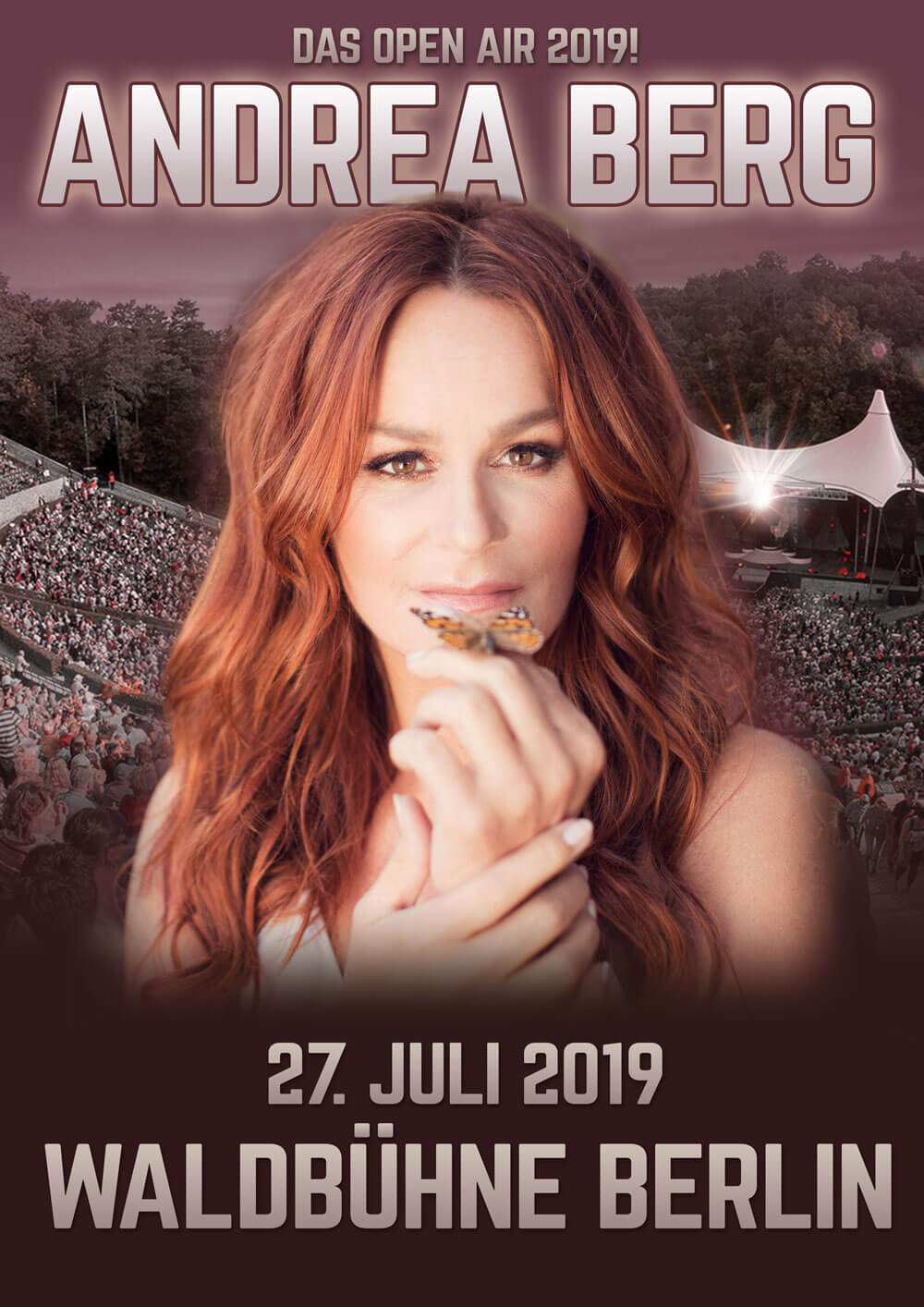 andrea berg live auf der berliner waldb hne am 27 juli. Black Bedroom Furniture Sets. Home Design Ideas